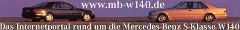 Das Internetportal rund um die Mercedes-Benz S-Klasse der Baureihe 140